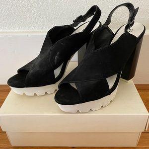Qupid Wedge Sandals/Heels